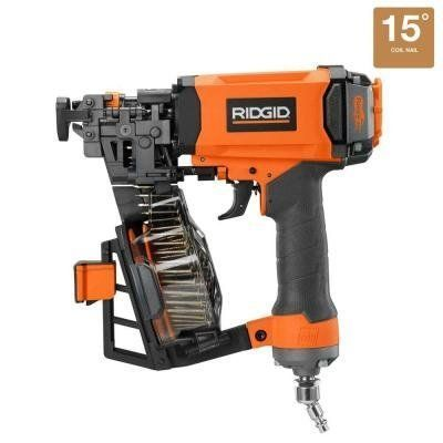 Ridgid 1 3 4 In Roofing Coil Nailer Rigid Roofing Nailer Review Bostitch Rn46 Max Roofing Nailer Milwaukee Roofing Na In 2020 Roofing Nailer Coil Nailer Roofing