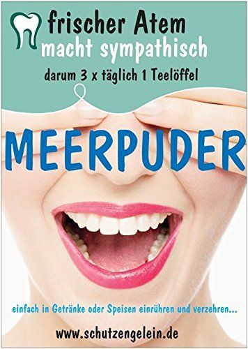 Meerpuder, gegen Mundgeruch, für frischen Atem, Mandelsteine Magenbeschwerden Zahnfleischbluten Meerpuder http://www.amazon.de/dp/B01CSCKOUS/ref=cm_sw_r_pi_dp_0LV5wb174NVBE