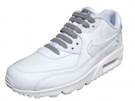 arrives latest so cheap Silver/grey elastic no tie laces! For Air-max | No tie laces ...