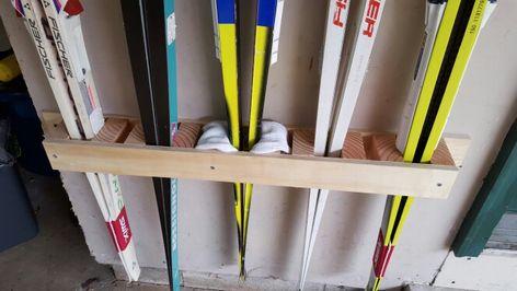 Ski Rack Cross Country Ski Rack Ski Storage Ski Rack Diy