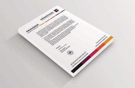 12+ Free Letterhead Templates in PSD MS Word and PDF Format   - free letterhead template word