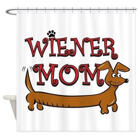 Wiener Mom Oktoberfest Shower Curtain By Roxy407 Oktoberfest