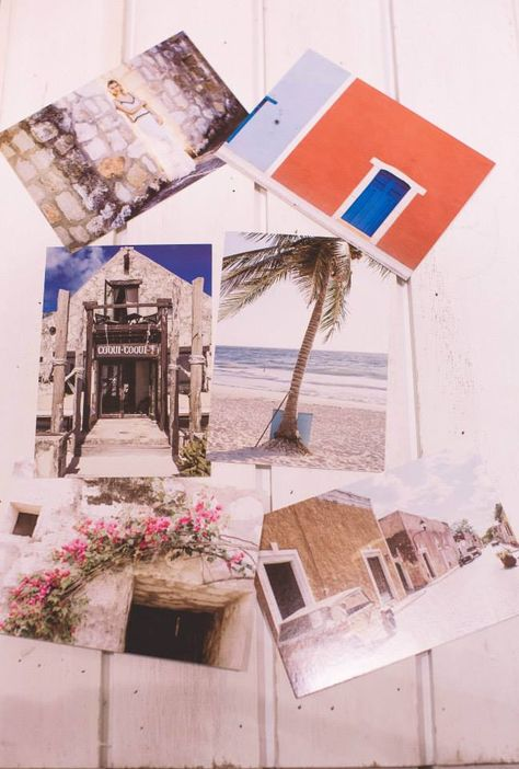 Postcards of the Travel Gallery with Tastemakers' Inspirational Quotes