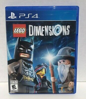 Ps4 Lego Dimensions Complete W Booklet No Starter Pack Or Portal Game Only Lego Dimensions Games Ps3 Games