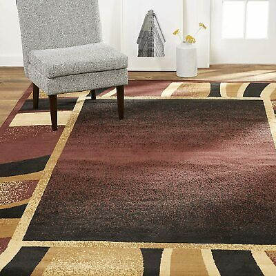 Home Dynamix Lyndhurst Rotana Area Rug 7 8 X10 7 Rectangle Brown Black Ebay In 2020 Home Dynamix Area Rugs 8x10 Area Rugs