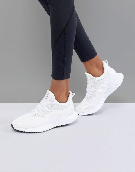 Adidas Alphabounce Beyond In White | Adidas white shoes ...