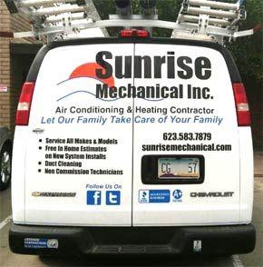 Sunrise Mechanical Inc On Air Conditioning Installation