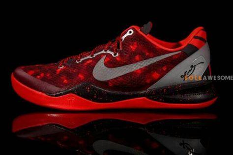 Nike Kobe 8 All Star aka Red Camo Detailed Pictures   Kobe