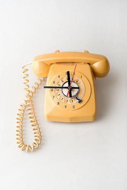 #Telephone Clock