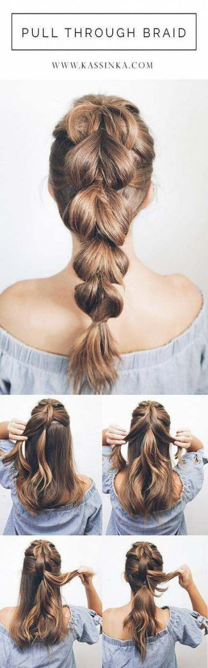 Super Hair Styles Updo Easy Shoulder Length Up Dos Ideas Thick Hair Styles Easy Hairstyles Simple Prom Hair