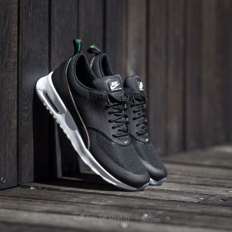 newest b5407 2fac3 Nike Wmns Air Max Thea Premium Black  Black-Blue Tint at a great price  64  only at Footshop.eu!