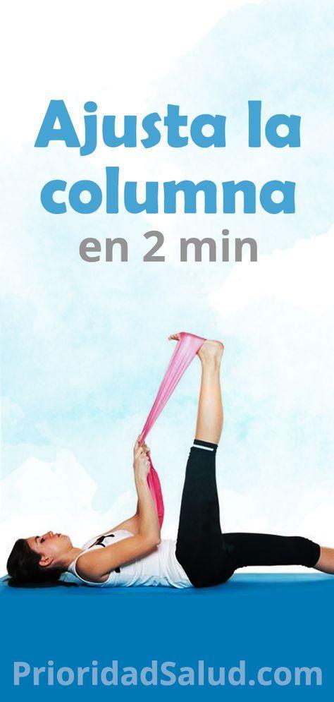 Ajusta La Columna En 2 Minutos Eliminar El Dolor De Espalda Estiramientos Para Fortalecer Los Musculos Sin Ejercicios Excercise Yoga Meditation Yoga