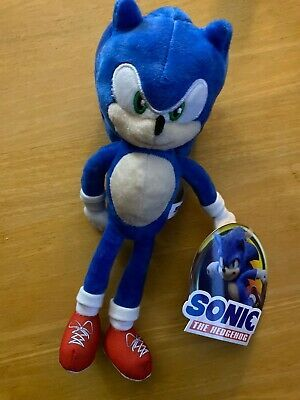 Advertisement Sonic The Hedgehog Movie 2020 Plush Toy Factory 10 In 2020 Hedgehog Movie Collectable Plush Plush Toy
