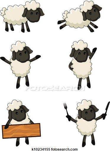 Mouton Clipart Et Graphisme 4082 Mouton La Recherche De