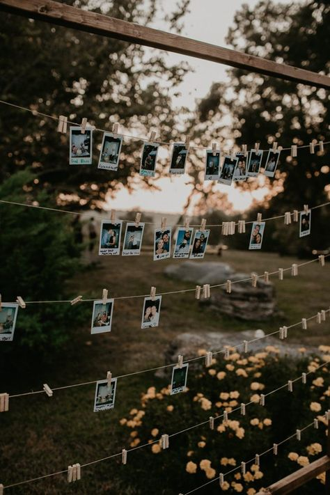 This DIY Backyard Wedding in Nashville is Chock Full of Stylish Inspiration - - Sommer der Hinterhofhochzeit Backyard Wedding Decorations, Backyard Wedding Lighting, Backyard Wedding Invitations, Wedding Favors, Outdoor Wedding Reception, Small Outdoor Weddings, Backyard Wedding Receptions, Rustic Outside Wedding, Very Small Wedding