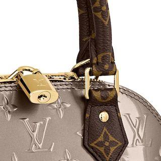 Alma Bb Monogram Vernis Leather Handbags Louis Vuitton In 2020 Louis Vuitton Alma Bb Louis Vuitton Alma Bb