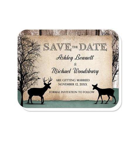 Deer Wooden magnets Doe /& Buck Save The Date Magnet Deer Antlers Save The Dates Antler Save The Date Deer Save the Date Magnets