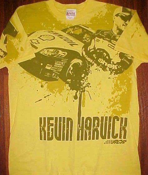 Nascar Chase Authentics Kevin Harvick 29 Yellow Shell Pennzoil Rheem T Shirt L Ebay T Shirt Kevin Harvick Shirts