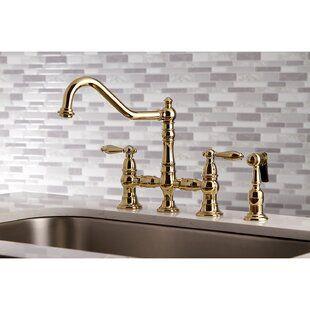 Kingston Brass Restoration Pot Filler In 2021 Kingston Brass Bridge Faucet Kitchen Faucet