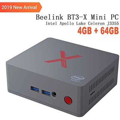 Beelink Bt3 X Mini Pc Ordenador De Sobremesa Con Hdmi Intel Apollo Lake Celeron J3355 Lpddr4 4g Emmc 64g 2 4g 5 8 Ordenadores De Sobremesa Mini Pc Ordenador