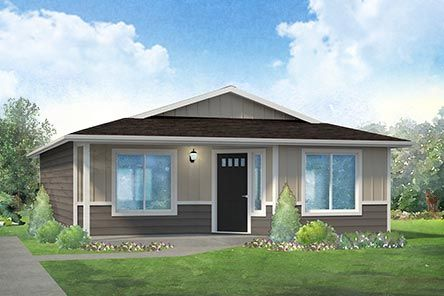 The Versatile Size Of The Fawn Floor Plan Is Perfect For A Narrow Lot Adu Or Vacation Home This Surprisingly Spacious 2 Bedroom 1