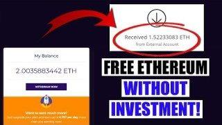 Free Ethereum mining 2019 FREE 0 1 ETHEREUM by Aiza Mercado
