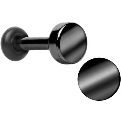 12 Gauge Stainless Steel Single Flare Plug Set Bodycandy In 2020 Black Titanium Body Jewelry Plugs Steel