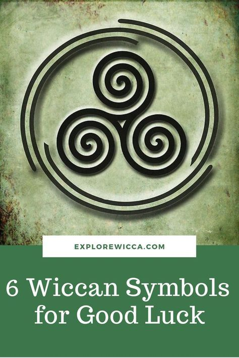 Discover The Most Popular Good Luck Charms And Symbols For Money Love And Life Wicca Wiccan Witchcraft Mag Wiccan Symbols Good Luck Symbols Wicca Tattoo