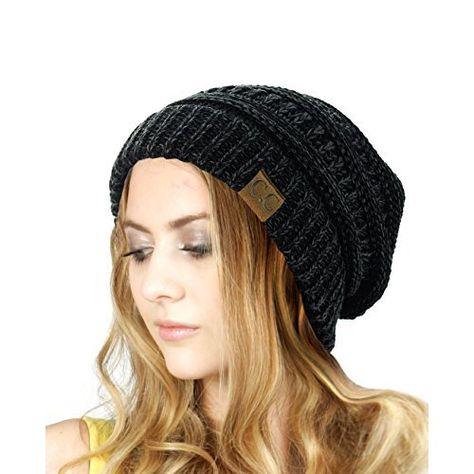 d96be62ec69 Springwell Women s Hat Cat Ear Crochet Braided Knit Caps (one size ...