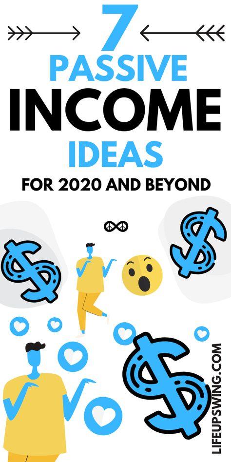 7 Passive Income Ideas - $1000's/month