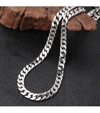 "Solide Argent Sterling 925 Curb Cuban Link Chain Bracelet 6 mm 7/""//8/""//9/"" Homme"