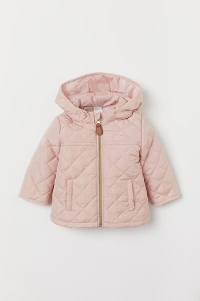 Pdp Kids Quilted Jacket Baby Girl Clothes Winter Toddler Girl Jackets