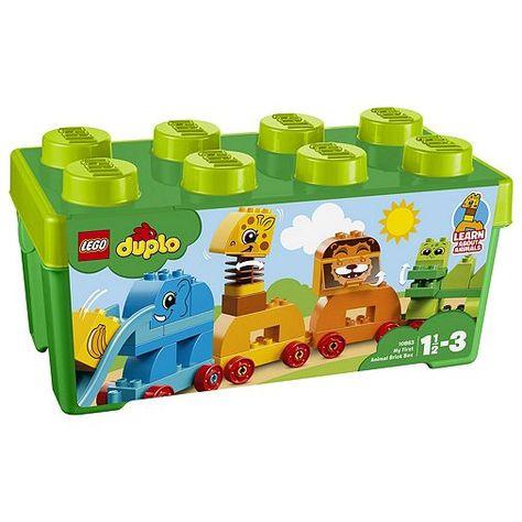 Tesco Direct Lego Duplo My First Animal Brick Box 10863 Toys