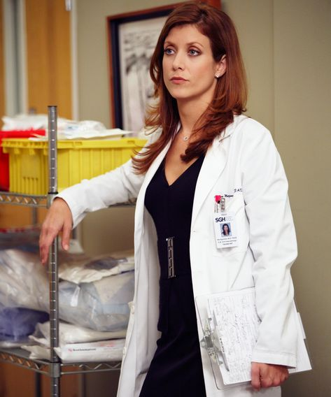 Greys Anatomy Characters, Addison Montgomery, Kate Walsh, Gray Aesthetic, Rory Williams, Meredith Grey, Female Doctor, Doctor Who, Woman Doctor