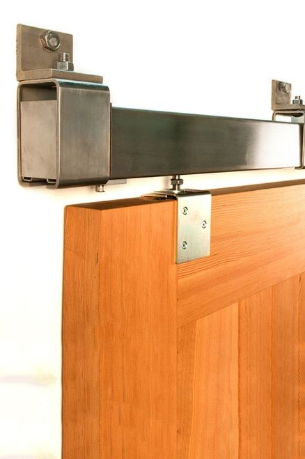 Heavy Duty Stainless Box Rail Hardware 600 Lb Interior Barn Doors Interior Barn Door Hardware