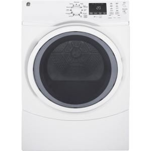 Ge 7 0 Cu Ft Capacity Duradrum Electric Dryer Gtdp280edww Gas