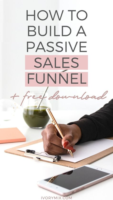 How to Build a Passive Income Sales Funnel
