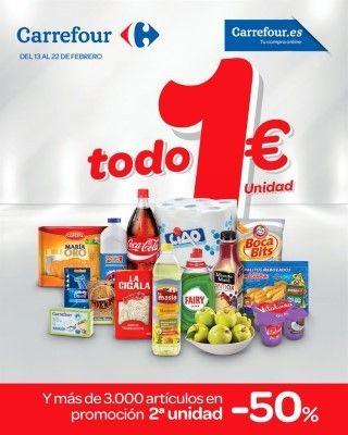 Todos Los Productos A 1 Euro Hasta El 22 Febrero Thing 1