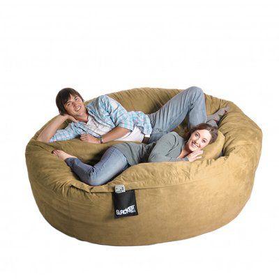 Ebern Designs Large Bean Bag Sofa | Bean bag chair, Bean bag