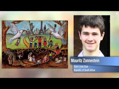 """2011-12 Peace Poster Contest """"Children Know Peace"""" -- Lions Clubs Video"""