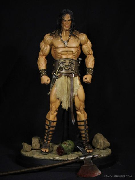"CONAN THE BARBARIAN Worlds Greatest Heroes 8/"" inch Retro Figure Series 1 2015"