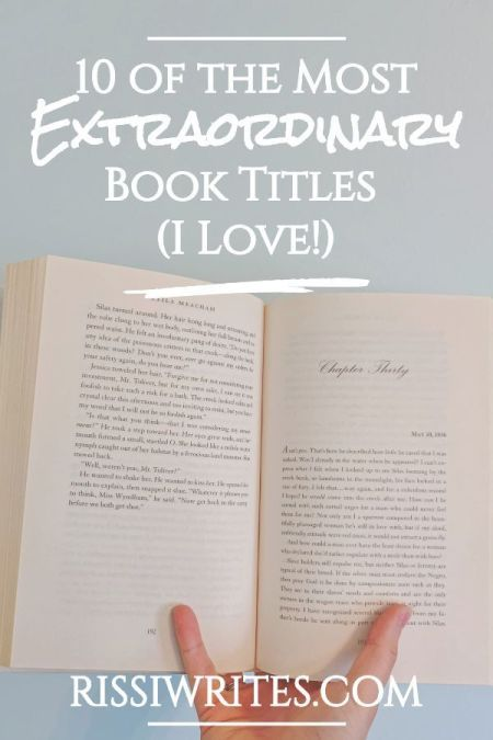 10 Of The Most Extraordinary Book Titles I Love Finding Wonderland Book Title My Love Title