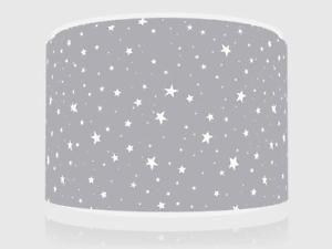 Grey Stars Light Ceiling Lamp Shade