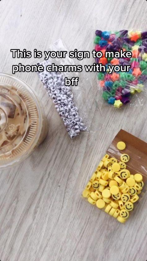 DIY phone charms