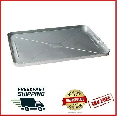 Ad Ebay Oil Drip Pan Galvanized Tray Metal Large For Under Car