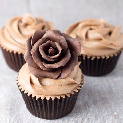 Rosa de chocolate..