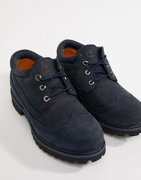 Timberland x Engineered Garments Oxford Brogues In Navy #men