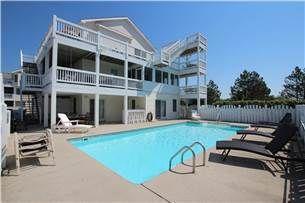 Fun In Paradise 498 8 Bedrooms 6 1 2 Baths Private Heated Pool Pet Friendly Oceanside Whalehead Beach Nc Vacation Rentals Vacation Rental Nc Vacation