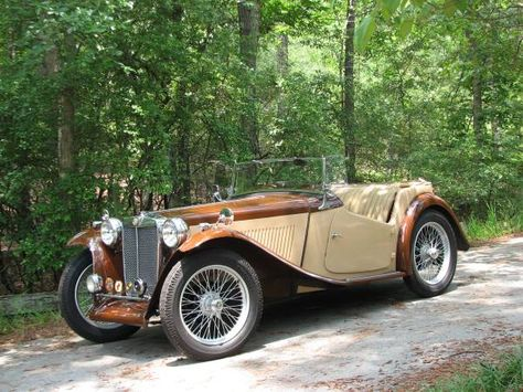 Gorgeous 1946 Mg Tc Roadster 29 000 Hopkins Sc Forsale