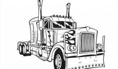 Optimus Prime Coloring Pages Truck Coloring Pages Cars Coloring